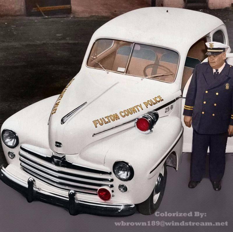 Полиция Фултон Каунти 1948 год - Stone Forest
