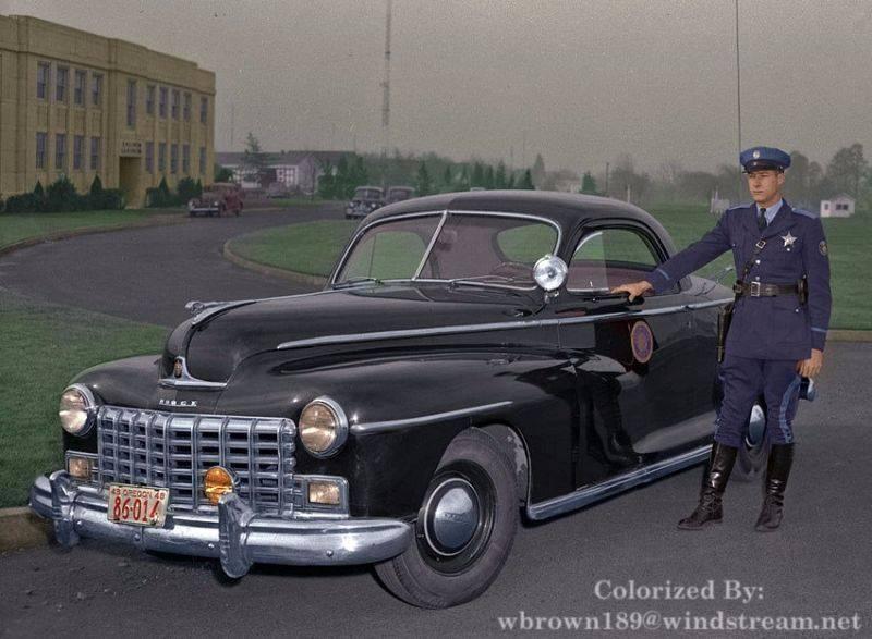 Полиция Орегона 1948 год - Stone Forest