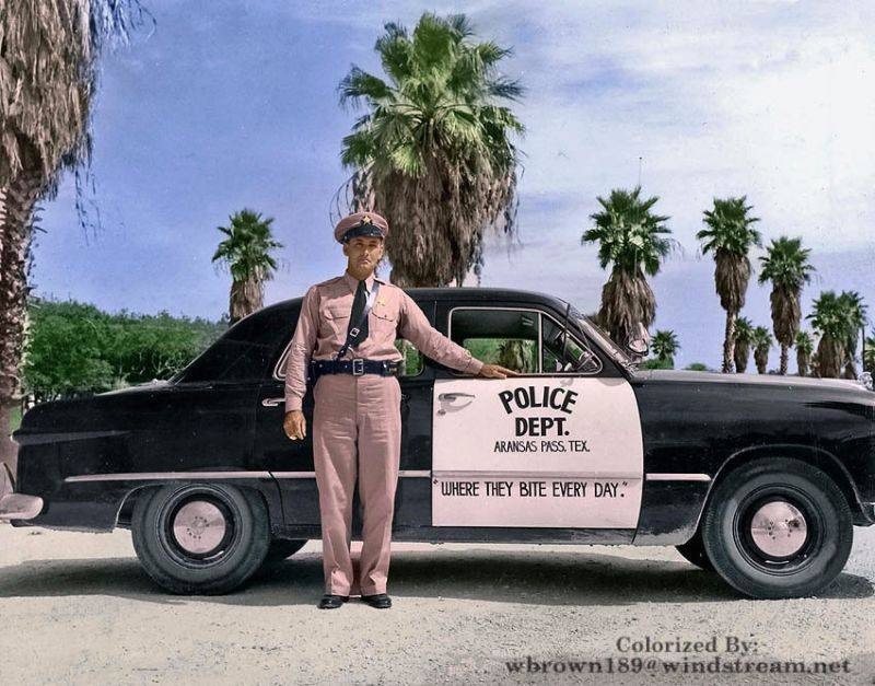 Полиция Арканзаса 1949 год - Stone Forest