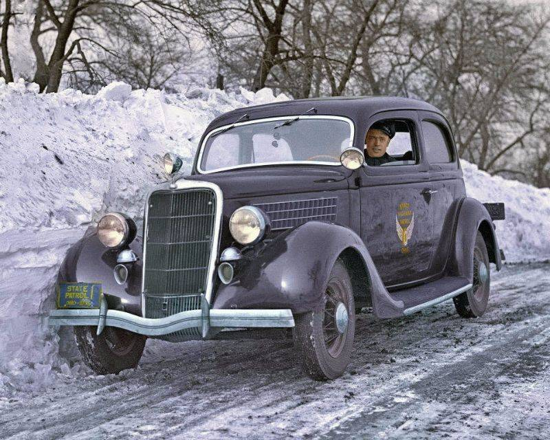 Полиция Огайо 1935 год - Stone Forest