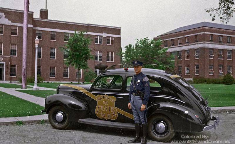 Полиция Мичигана 1940 год - Stone Forest
