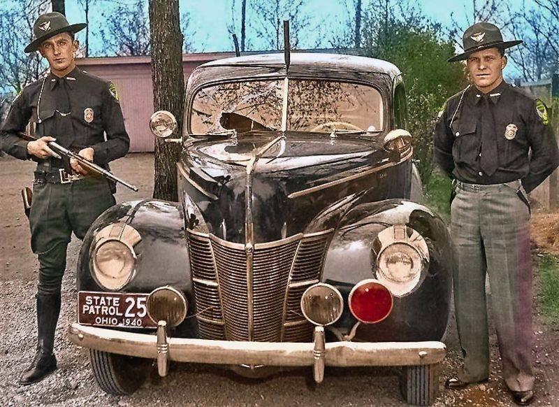 Полиция Огайо 1940 год - Stone Forest