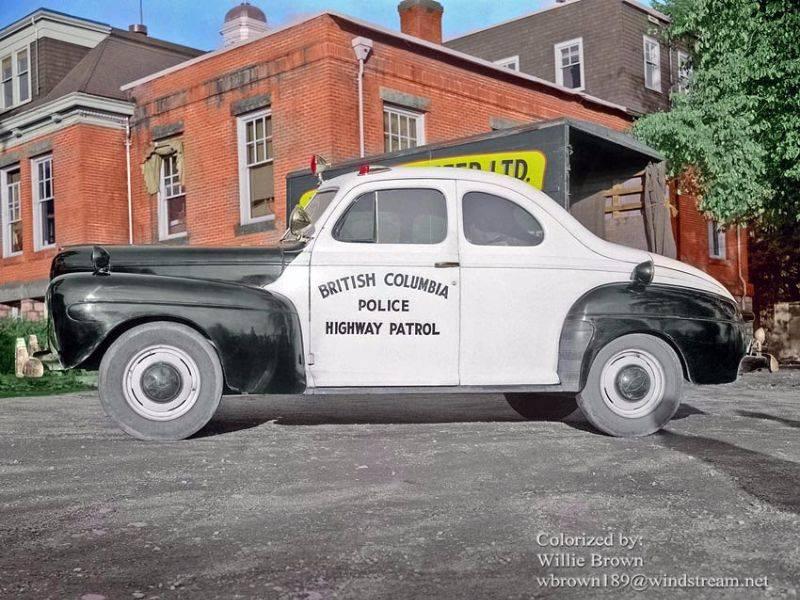 Полиция Британской Колумбии 1942 год - Stone Forest