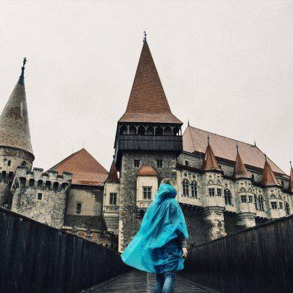 Замок Ворона в Румынии - Stone Forest