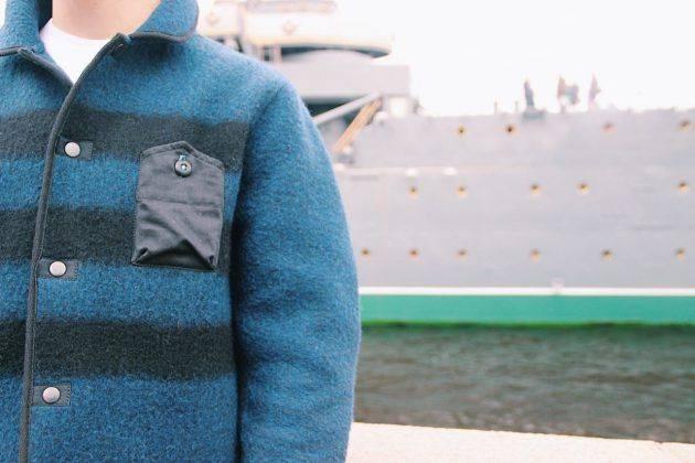 Шерстяная куртка Fuhrstaat N 1 Deck jacket - Stone Forest