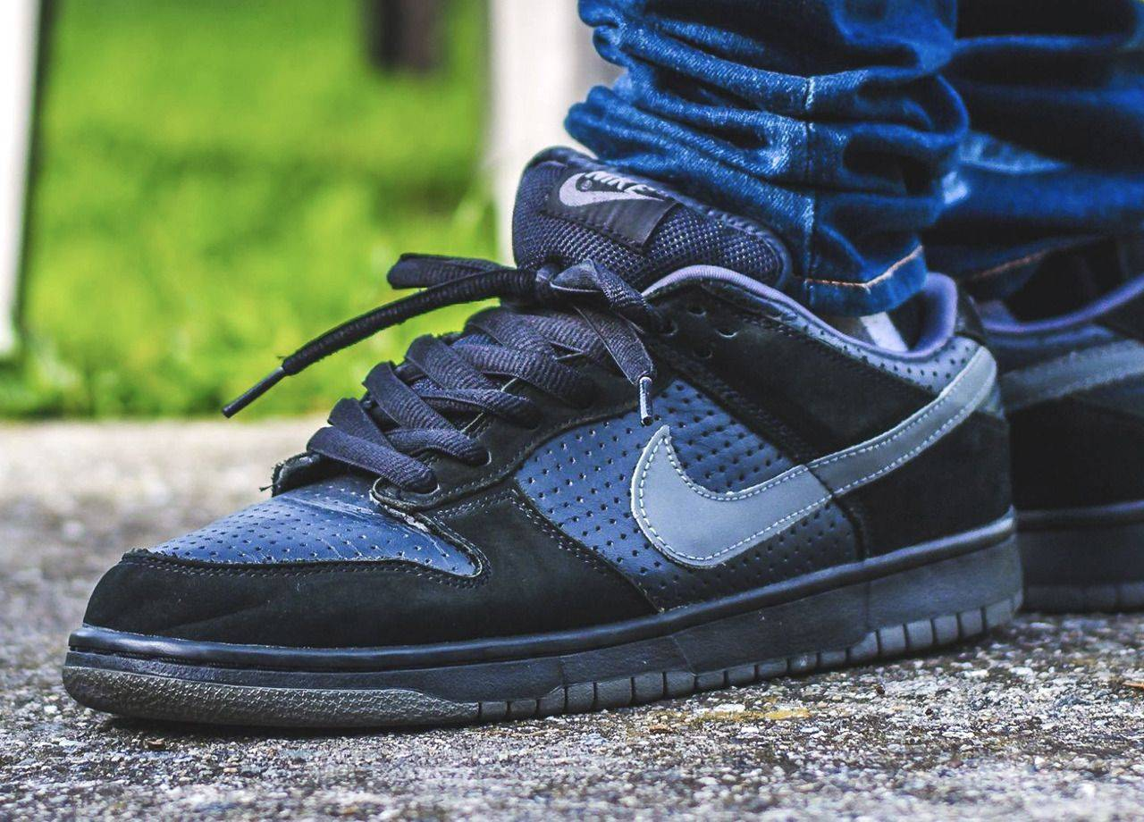 Кроссовки Nike SB Dunk Low - Stone Forest