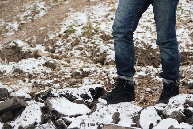 Ботинки Vans UltraRange Hi Gore-Tex - Stone Forest