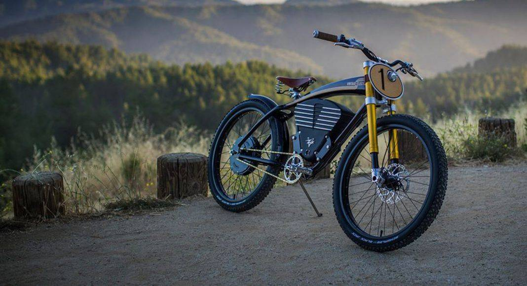 Vintage Electric Scrambler - Stone Forest