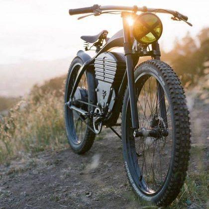 Электрический велосипед Vintage Electric Scrambler - Stone Forest