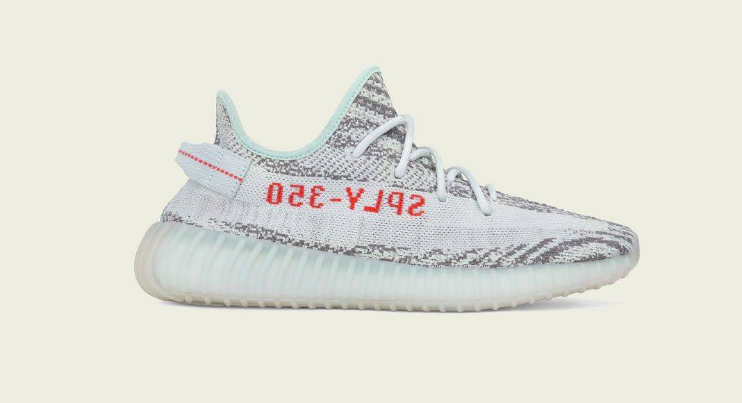 adidas Originals Yeezy Boost 350 V2 Blue Tint - Stone Forest
