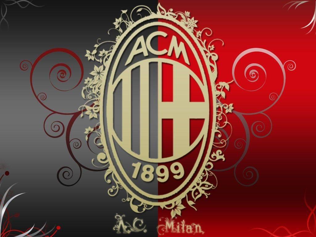 Логотип ФК Милан - Stone Forest