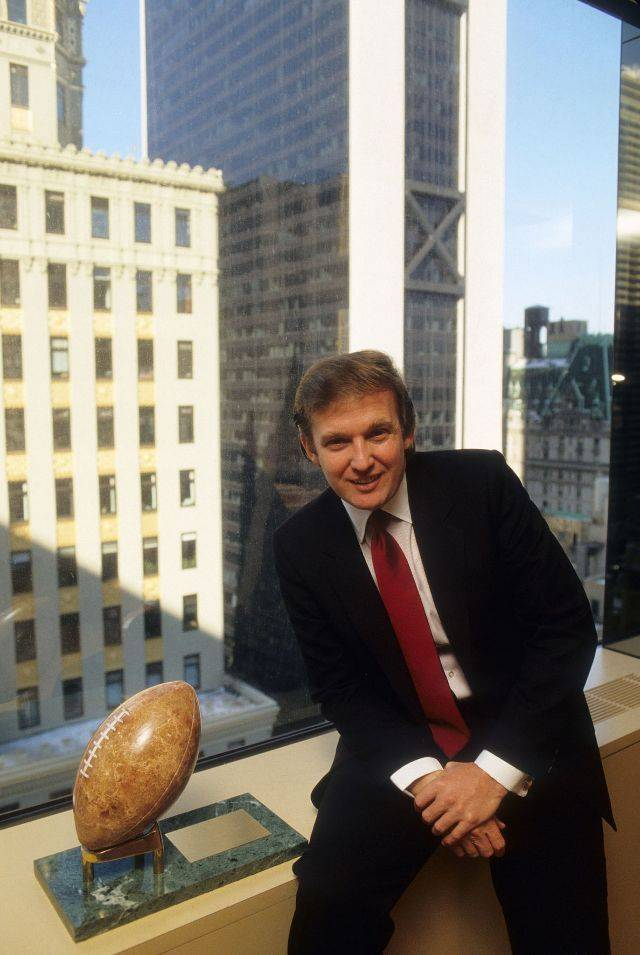 Дональд Трамп владелец команды Нью Джерси Дженералс - Stone Forest