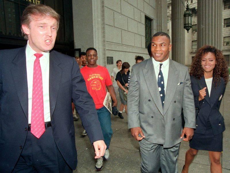 Дональд Трамп и Майк Тайсон - Stone Forest