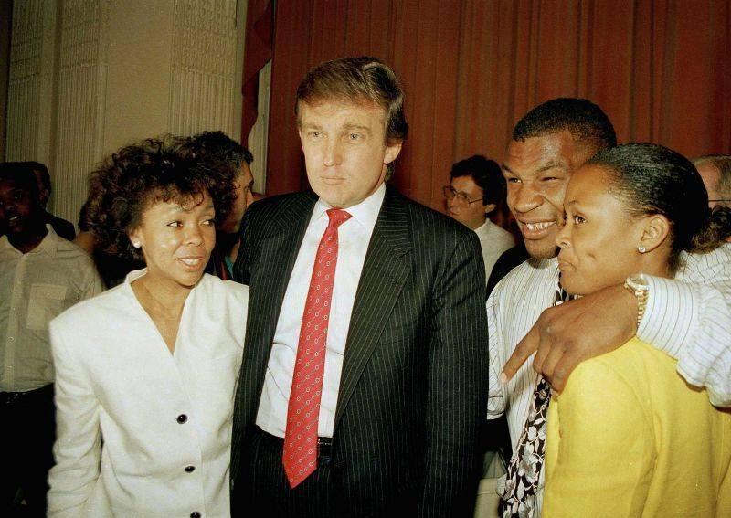 Дональд Трамп и Железный Майк Тайсон - Stone Forest