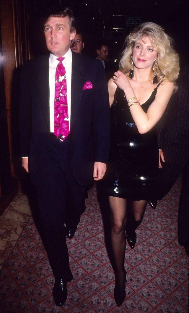 Дональд Трамп и вторая жена Марла Мейплз - Stone Forest