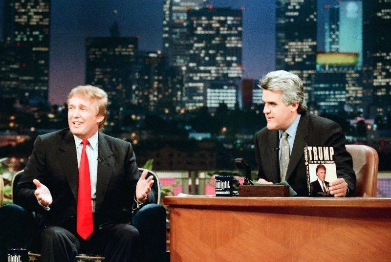 Дональд Трамп на шоу Джея Лено - Stone Forest