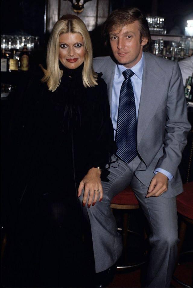 Дональд Трамп и первая жена Ивана Трамп - Stone Forest