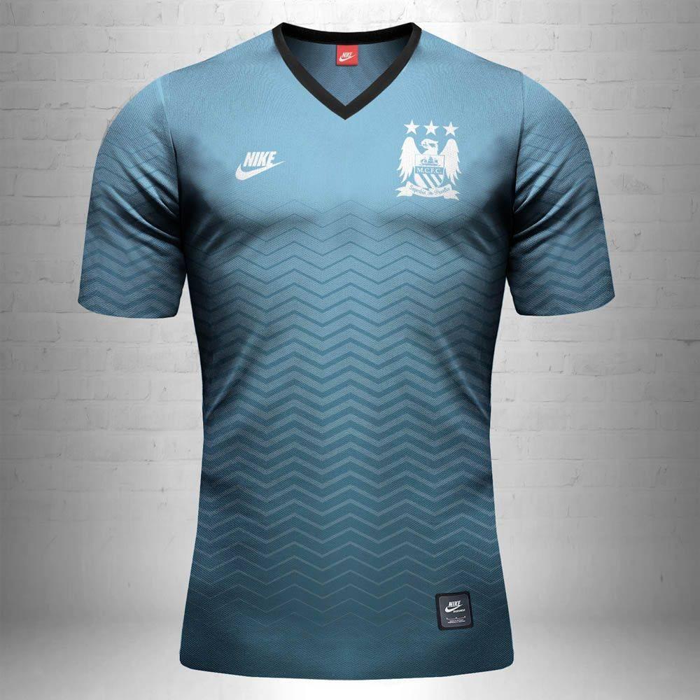 Футбольная форма Манчестер Сити - Stone Forest
