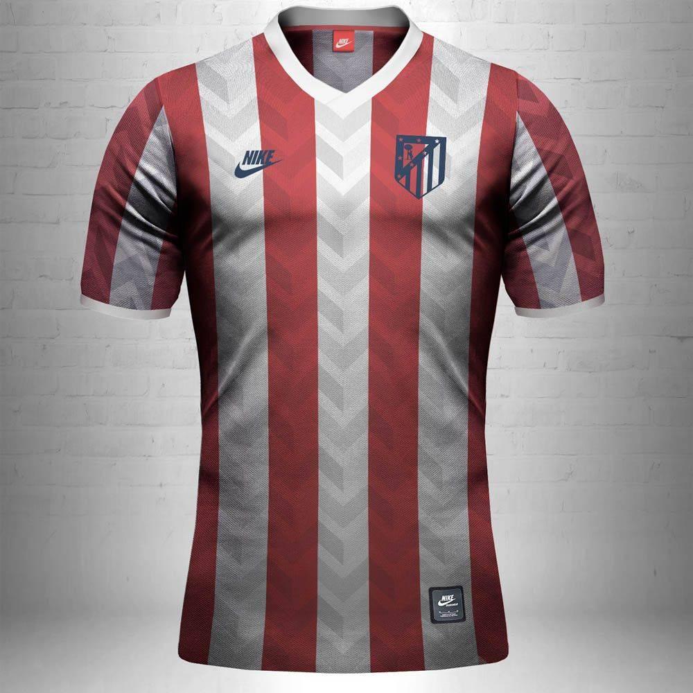 Футбольная форма Атлетико Мадрид - Stone Forest