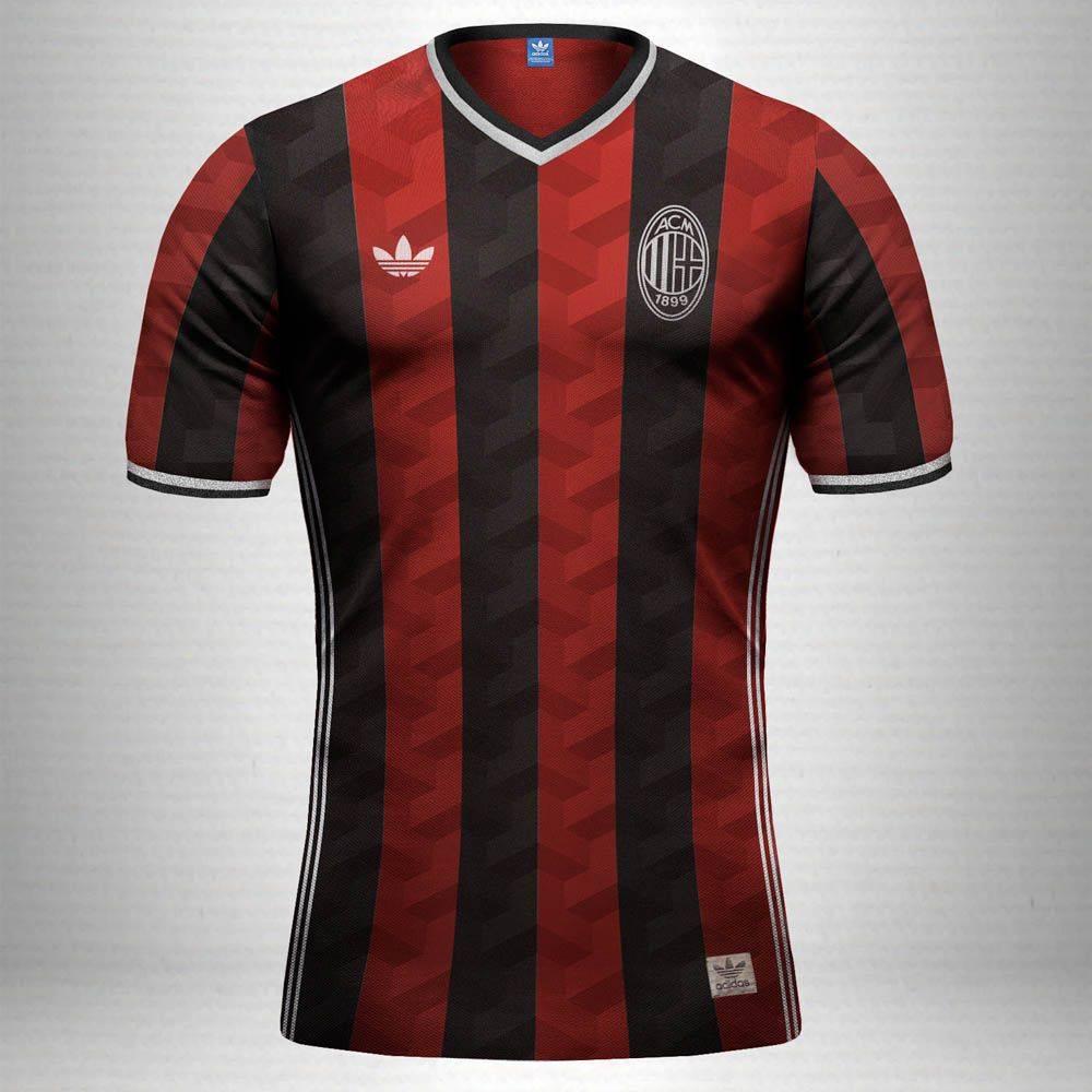 Футбольная форма Милан - Stone Forest