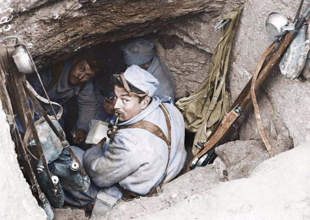 Французские солдаты на Первой мировой войны - Stone Forest