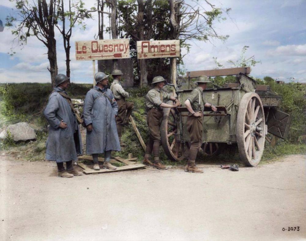 Французская армия на Первой мировой войны - Stone Forest