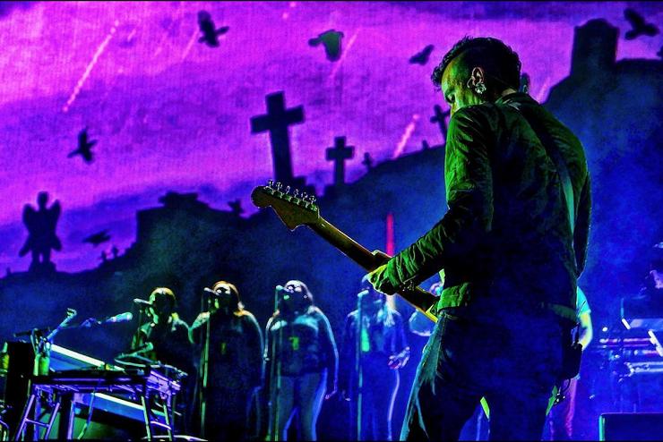 Музыкальная группа Gorillaz - Stone Forest