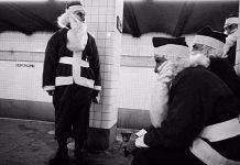 Санта Клаусы на улицах Нью-Йорка. Винтажные фотографии 1970-х - Stone Forest