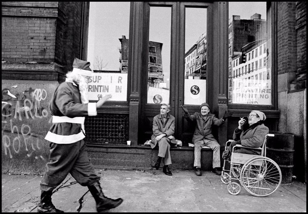 Санта Клаус Нью-Йорк. Винтажные фотографии 1970-х - Stone Forest