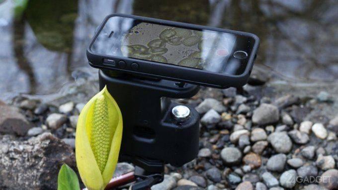 Смартфон микроскоп - Stone Forest