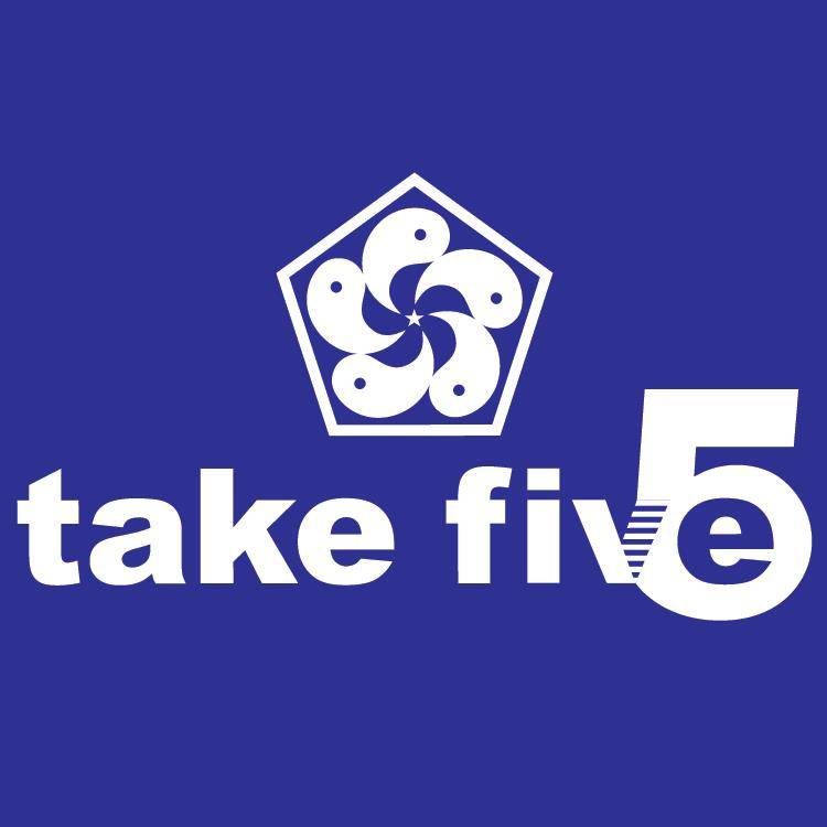 TAKE5 logo - Stone Forest