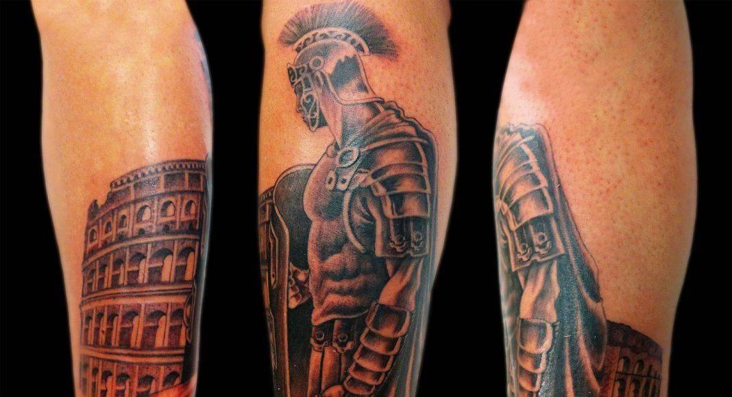 Armor Body Art - Stone Forest