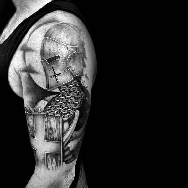 Armor Body Tattoo - Stone Forest