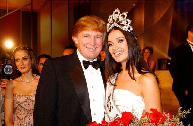 Дональд Трамп и Оксана Федорова - Stone Forest