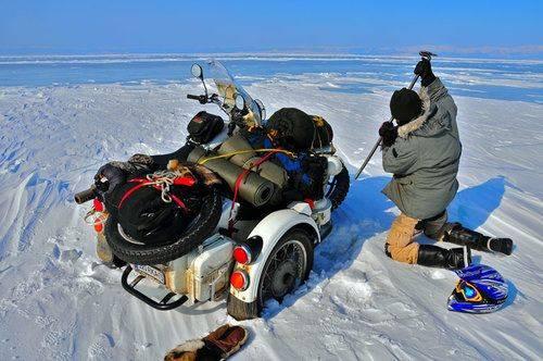 Мотоцикл Урал Байкал - Stone Forest