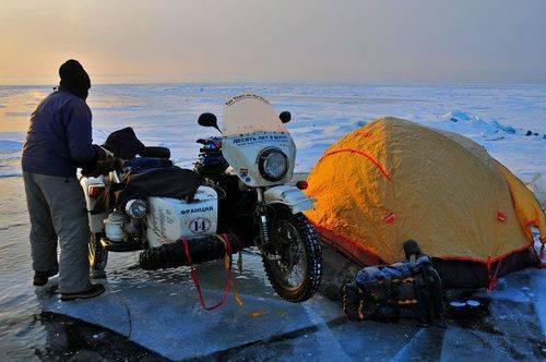 Модель мотоцикла Урал Байкал - Stone Forest