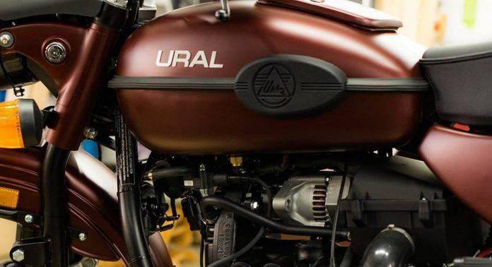 Ural Gear Up Burgundy Satin 2018 - Stone Forest
