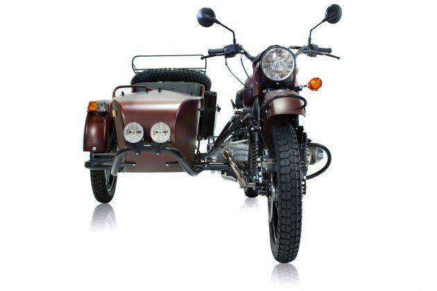 Ural Gear Up Burgundy Satin - Stone Forest