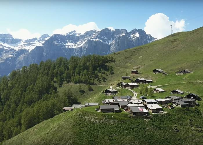 Альбинен Швейцария - Stone Forest