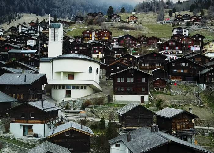 Переезд Альбинен Швейцария - Stone Forest