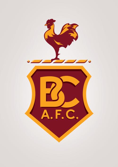 Лого Брэдфорд Сити - Stone Forest
