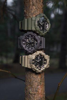 Лукбук Casio G-SHOCK и Всеволод Черепанов - Stone Forest