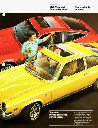Машина Chevrolet Vega - Stone Forest