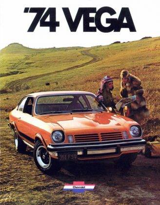Модель автомобиля Chevrolet Vega - Stone Forest