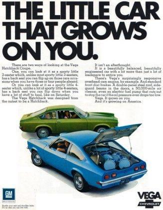 Релиз Chevrolet Vega - Stone Forest