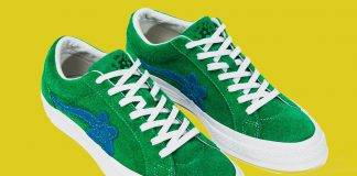 Converse × Tyler The Creator «GOLF le FLEUR*» - Stone Forest