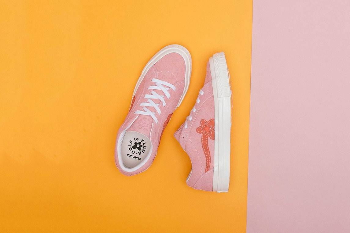 Релиз Converse × Tyler The Creator «GOLF le FLEUR*» - Stone Forest