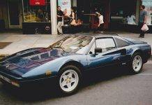 Модель автомобиля Ferrari 308 GTS - Stone Forest