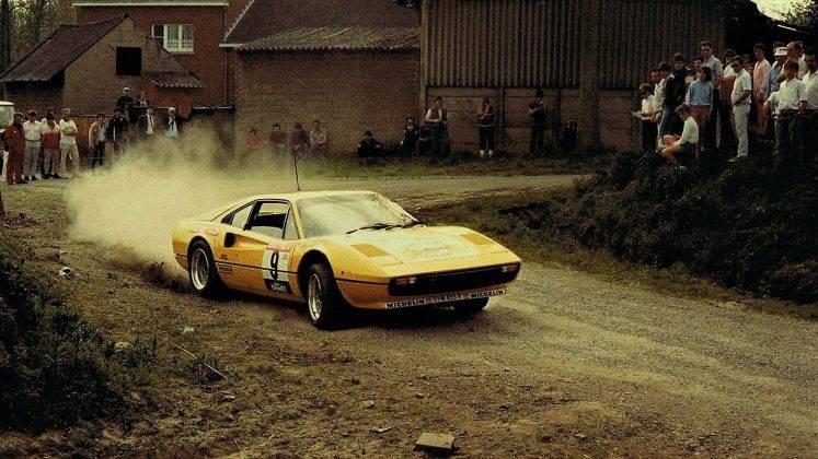 Ferrari 308 GTB - Stone Forest