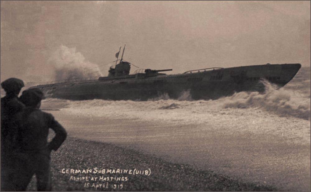 SM U-118 - Stone Forest